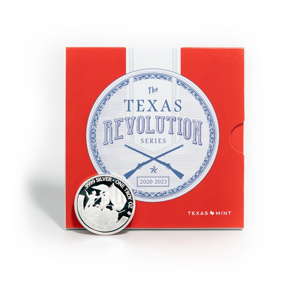 Buy 2020 Texas Silver Round with Revolution Booklet