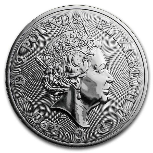 Royal Mint Silver Pig Obverse