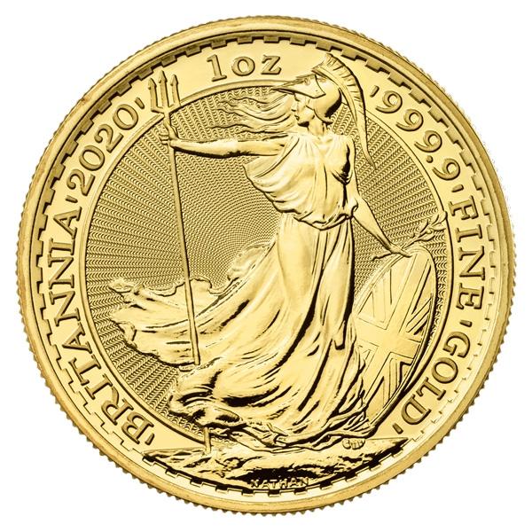 Royal Mint Gold Britannias Reverse