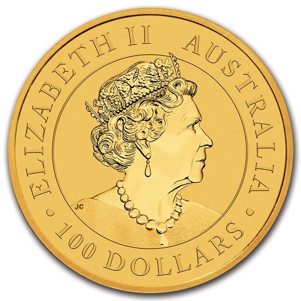 Obverse of 2021 Australian Gold Kangaroo