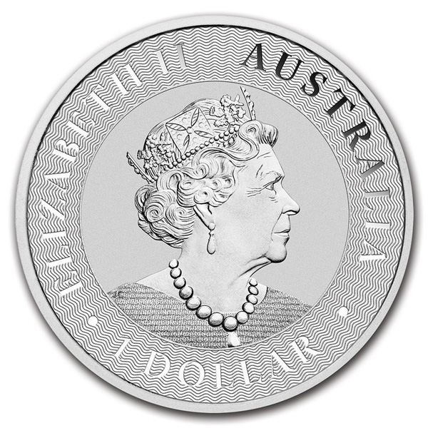 Obverse of 2020 Perth Mint Silver Kangaroo