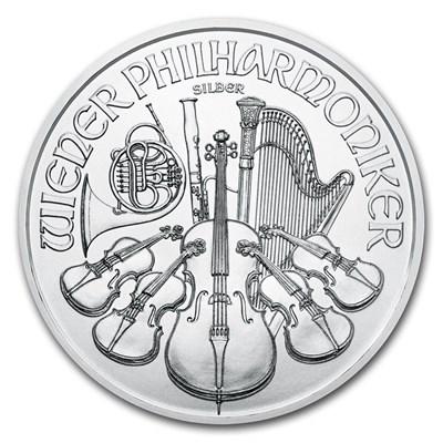 Reverse of 2021 Austrian Silver Philharmonic
