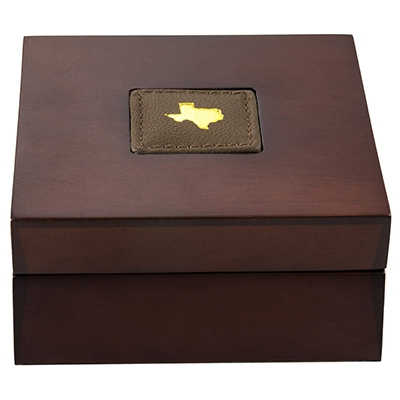 Buy 2020 Texas Silver Round with Wooden Display Case