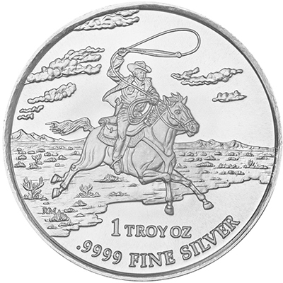 Reverse of 2013 Texas Silver Round