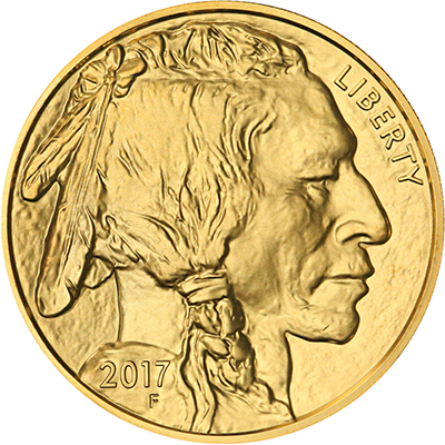 Obverse of 2017 American Buffalo Gold Coin