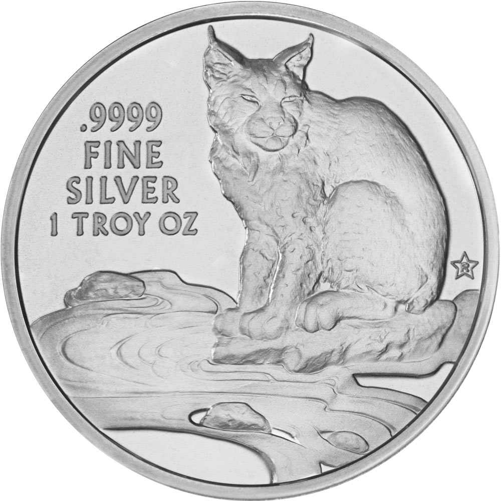 Reverse of 2017 Texas Silver Round