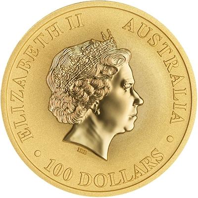 Obverse of 2018 Australian Gold Kangaroo